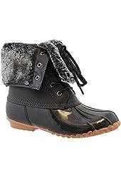 Sporto Womens Delmar Leather Duck Boot