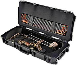 SKB Cases iSeries Parallel Limb Bow Case w  Foam and Wheels, Tan 3i-3614-PL-T by SKB Cases