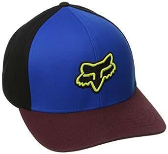 Fox Men's Reminder Flexfit Hat, Blue, Small/Medium