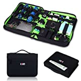 Damai Portable Universal Electronics Accessories Travel Organizer / Hard Drive Case / Cable Organiser- 3 Size (Large)
