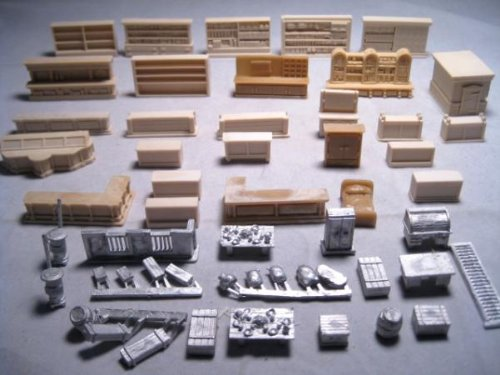 15mm Old West - Terrain: Western Furniture