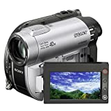Sony Handycam DCR-DVD115E - Camcorder - widescreen - 800 Kpix - optical zoom: 40 x - DVD-R (8cm), DVD-RW (8 cm), DVD+RW (8cm), DVD+R DL (8cm), flash card