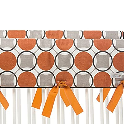 Sweet Potato Short Cot Rail Cover Set by Glenna Jean - Echo