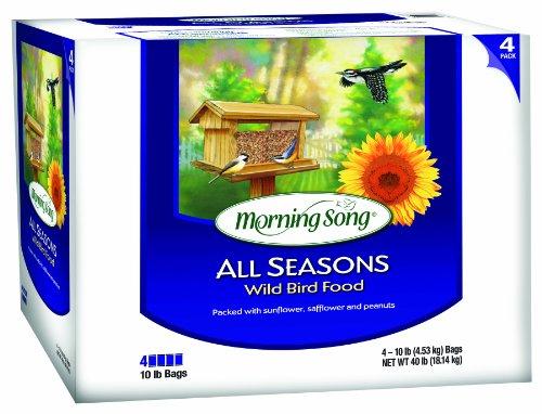 Morning Song All Seasons Wild Bird Food, 40-Pound