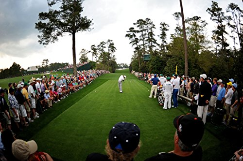 XXXL Poster Size Photo 20x30 Tiger Wood Finishing 18th Holes AT the Masters 2005 (Tiger Woods Photo compare prices)