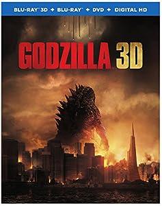 Godzilla (Blu-ray 3D+ Blu-ray + DVD)