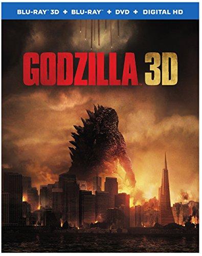 GODZILLA ゴジラ 北米版 / Godzilla [3D+Blu-ray+DVD][Import]