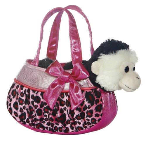 Blingy Pink Leopard Fancy Pals Pet Carrier
