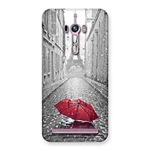 Tower Red Umbrella Back Case Cover for Zenfone Selfie