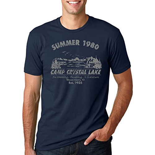 Camp Crystal Lake Summer 1980 T-Shirt Vintage Movie Tee M