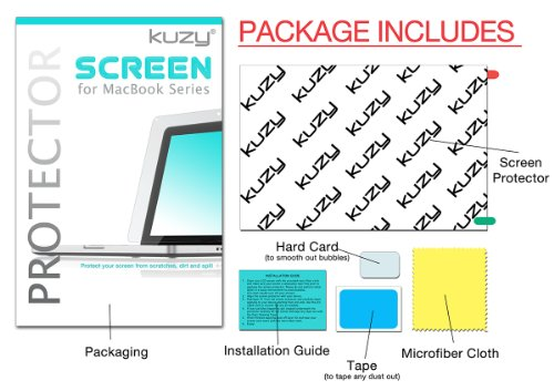 "Kuzy - Anti-Glare AIR 13-inch Screen Protector Film for Apple MacBook AIR 13.3"" (Models: A1466 & A1369) - Anti-Glare"