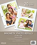 Pinnacle Magnetic Photo Album Refills, 10-pack for up to 20 8x10 inch photos