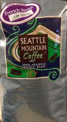 Seattle Mountain Coffee, French Roast, 100% Central Roast (Seattle Mountain French Roast compare prices)