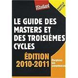 Le guide des masters et des troisièmes cycles