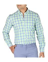 STOP By Shoppers Stop - Full Sleeve Regular Fit Regular Collar Check Shirt - B00VV6HD20