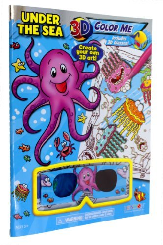 BENDON Under The Sea 3D Activity Book