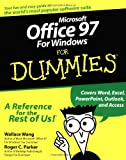 Microsoft Office 97 For Windows For Dummies (For Dummies (Computers)) (0764500503) by Wallace Wang