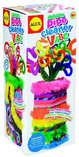 ALEX Toys Craft Pipe Cleaner Vase - 1