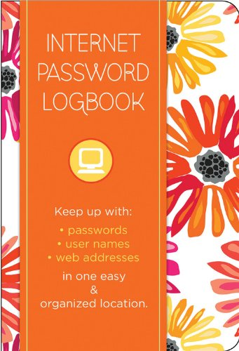 Internet Password Logbook - Botanical Edition: Keep Track Of: Usernames, Passwords, Web Addresses In One Easy & Organized Location front-123982