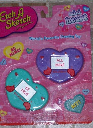 Etch a Sketch Mini Heart