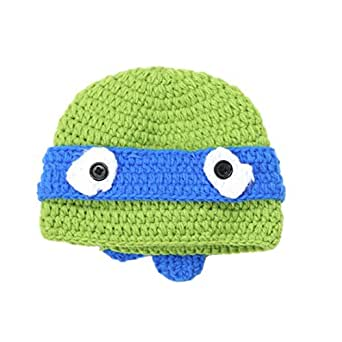 Towallmark Newborn Baby Cute Sea Turtle Cap Knit Hat Costume Photography Prop