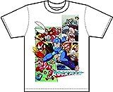 ロックマン Tシャツ クラシックスビジュアル 白 Sサイズ