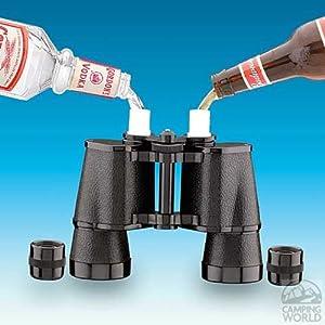 Barnoculars Binocular Flask