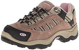 Hi-Tec Women\'s Bandera Low WP Trail Running Shoe,Taupe/Blush,8.5 M US