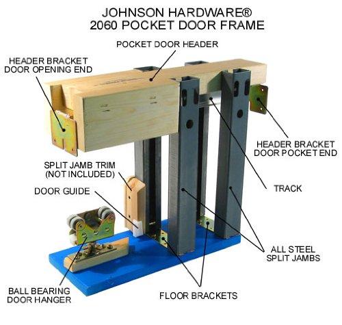 2060 Commercial Grade Pocket Door Frame (30