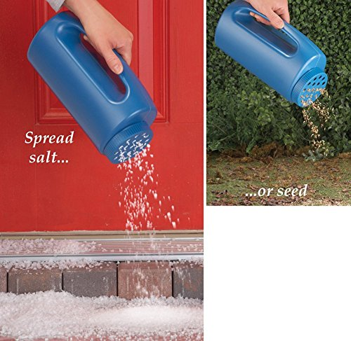 Lowest Prices! Home-X® Salt and Seed Spreader