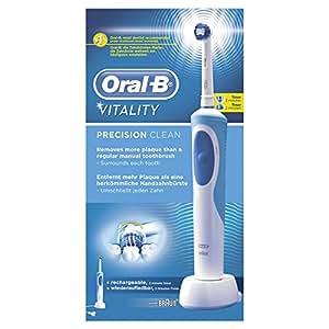 Oral-B Vitality Precision Clean - Cepillo de dientes eléctrico recargable