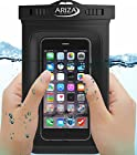 iPhone 6 Waterproof Case, Universal - Ariza Imperial® [FREE Strap Included] Best Water Proof Phone Bag Pouch for iPhone 5 5S 6, 6 Plus, Samsung Galaxy S3 S4 S5 S6 S6 Edge, BlackBerry, HTC One M9, M8, M7, Note 1 2 3 4, LG G4 G3 G2
