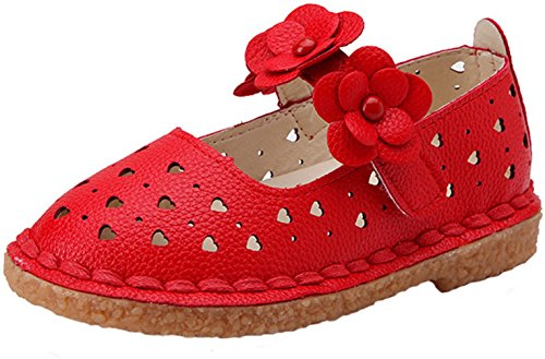 ppxid-toddler-little-girls-flowers-skidproof-ankle-strip-princess-shoes-red-6-us-size