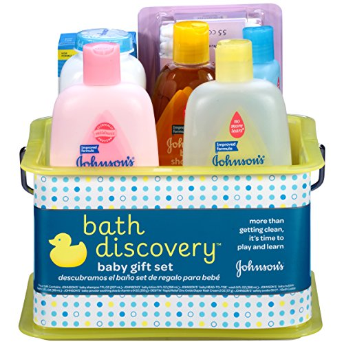 JOHNSON'S Bath Discovery Baby Gift Set (Gift Basket Baby compare prices)