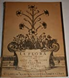 img - for La Flora Volume Primo Arie &c. Antiche Italiane (1) book / textbook / text book