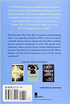 read boy meets boy david levithan online free John green and david levithan: co-writing a book free will, to will something levithan wrote his first book boy meets boy because he felt that most books.