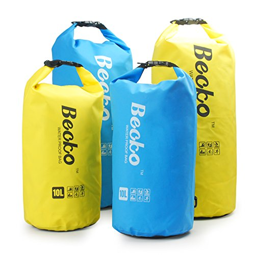 Becko-Dry-Bag-Waterproof-Case-Pouch-Include-Shoulder-Strap-for-Swimming-Surfing-Fishing-Boating-Skiing-Camping-and-Other-Outdoor-Sports-Protest-Your-Personal-Item-Against-Water-Rain-Snow-and-Sweat