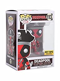 Funko Pop! Marvel #113 Pirate Deadpoo…