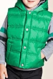 Zip Through Padded Hooded Gilet & Fleece Top Set [T88-9018Y-Z]
