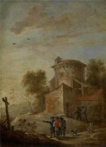 The High Quality Polyster Canvas Of Oil Painting 'David Teniers II - Morning, 17th Century' ,size: 10x14 Inch / 25x35 Cm ,this Imitations Art DecorativeCanvas Prints Is Fit For Gym Artwork And Home Artwork And Gifts