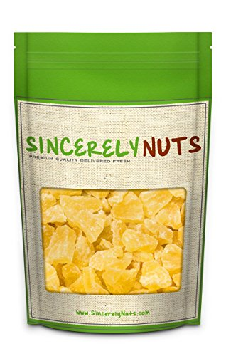 Sincerely Nuts Dried Pineapple Chunks - 2 Lb. Bag - Beyond Delicious - Astounding Freshness - Bursting with Wholesome Nutrients - Kosher Certified