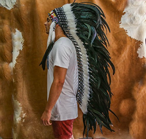 Choose Color | Indian Headdress | Native American Headdress | Real XL Feathers