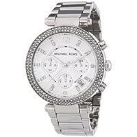 Michael Kors Women's MK5353 Parker Silver Watch