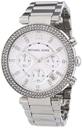 Michael Kors Women's MK5353 Parker Silver Watch