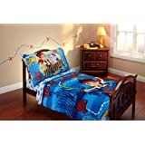 Disney Jake and the Neverland Pirates 4 Piece Toddler Bedding Set