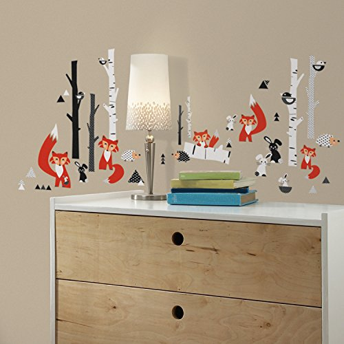 roommates-fox-forest-peel-and-stick-wall-decals