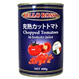 PODERE SANTA PRISCA トマト缶 カットトマト CHOPPED TOMATOES 【24缶セット】 [並行輸入品]