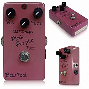 BearFoot Pink Purple Fuzz