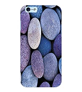 ColourCraft Stone Pattern Design Back Case Cover for APPLE IPHONE 6S