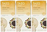 Tazo Chai Natural Spiced Black Tea Latte Concentrate 32-ounce Boxes (Pack of 3)